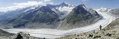 Aletsch glacier. Switzerland. (ibethmuttis) Tags: glacier aletsch mountains snow ice blue sky alps switzerland landscape slope
