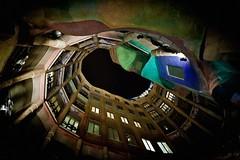 Casa Mila (Dmitriy Sakharov) Tags: casa mila barcelona la pedrera spain europe architecture gaudi antoniogaudiceilingpalauguell