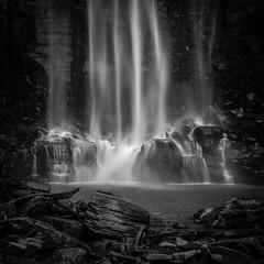 Nostalgia Falls (Diego S. Mondini) Tags: cachoeira waterfall monocromático água water rocks tabarelli brasil brazil santacatarina presidentegetúlio