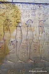 Tutankhamun´s second outermost shrine (konde) Tags: shrine tutankhamun tutankhamon 18thdynasty gold kv62 valleyofthekings cairomuseum treasure newkingdom deities art