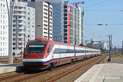 4003 Alfa Pendular (ɢ. ʙᴇʀᴇɴɢᴜᴇʀ [ ō-]) Tags: ferrocarril lisboa oriente alfapendular 4003 cp train railway railroad estación ffcc