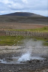 40082421 (wolfgangkaehler) Tags: 2017 europe european iceland icelandic island highlands centraliceland hveravellir hveravellirhotspringsarea volcanic volcanicactivity geothermalarea fumaroles steam mineraldeposit mineralcrystals mineraldeposits hotsprings spouting water bubbling