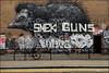 Various... (Alex Ellison) Tags: jobs dfn eastlondon urban graffiti graff boobs