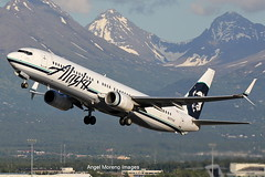 Alaska Airlines / Boeing 737-990(WL) / N317AS departure from Ted Stevens Anchorage International Airport, Alaska (Angel Moreno Photography) Tags: alaskaairlines boeing737990wl n317as tedstevensanchorageinternationalairport alaska airport anchorage airplane plane aircraft planespotter boeing