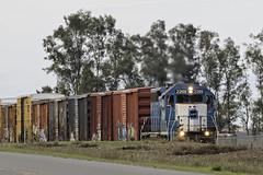 Sinking Feelling (lennycarl08) Tags: californianorthernrr cfnr gp382 emd llp2269 railroad trains train sacramentovalley northerncalifornia