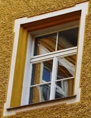 P1080880 Spiegelung / Reflection (Traud) Tags: germany deutschland bavaria bayern castle schlos fenster window reflection spiegelung