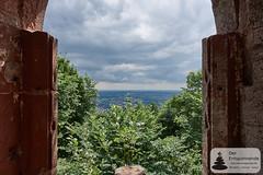 Ausblick vom Château du Wasenbourg