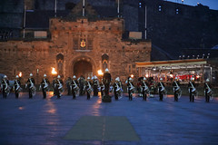 Tattoo 2nd Visit-8 (Philip Gillespie) Tags: 2017 edinburgh international military tattoo splash tartan scotland city castle canon 5dsr crowds people boys girls men women dancing music display pipes bagpipes drums fireworks costumes color colour flags crowd lighting esplanade mass smoke steam ramparts young old cityscape night sky clouds yellow blue oarange purple red green lights guns helicopter band orchestra singers rain umbrella shadows army navy raf airmen sailors soldiers india france australia battle reflections japan fire flames celtic clans