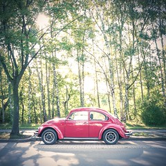 (thombe77) Tags: beetle käfer vw volkswagen red rot car auto leica