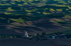 The Lay of the Land (Harry2010) Tags: palouse hills rolling green village landscape