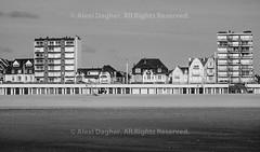 Le Touquet, Beach Huts And Sea Front Houses - Pas-De-Calais, France, July 2017
