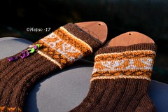 2017-08-04 Kanteletar (11) (hepsi2) Tags: tds2017 tds2017kanteletar kanteletar socks sukat colorwork strandedknitting