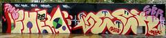 Graffiti in Barcelona 2013 (kami68k -all over-) Tags: barcelona 2013 graffiti legal halloffame bunt fher pms deek sbr
