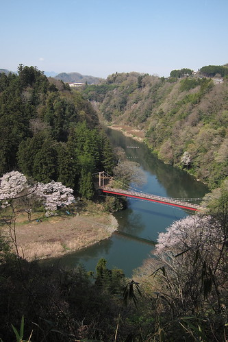 Benten-bashi Bridge on Sagami River