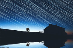 You can search... (gusdiaz) Tags: photoshop photomanipulation reflection horse barn stars trails beautiful relaxing colorful digita art arte artistico caballo reflejo agua water summer verano relajante campo cielo sky sunset sunrise amanecer atardecer