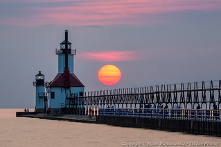 St. Joseph Lighthouse at Sunset