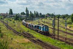 TEM2-5455 (arkadiusz1984) Tags: tem2 kostrzyn freighttrain majkoltrans d29273
