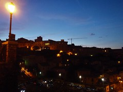 Narni by night (Francesco Pesciarelli) Tags: flickr pesha colors night sky umbria narni italy italia panoramic nightshot lamp life big downloadable mentionmyname varied collection thoughtful colours