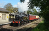 Branch line station (DaveStubbings) Tags: 41313 ivatt ivatt2 steamengine steamlocomotive steam steamtrain steamrailway heritage heritagerailway preservation preserved eastsomersetrailway cranmore somerset photocharter 30742charter branchline