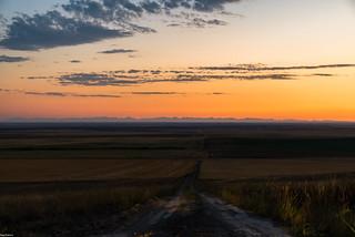 Brady Montana Sunset Earth Curvature