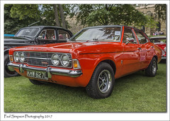 1973 Ford Cortina 1600 GXL (Paul Simpson Photography) Tags: fordcortina gxl fordcortina1600 fordcars cars classiccar carshow lincoln lincolncastle paulsimpsonphotography red 1970s british sonya77 sonyphotography vintage imagesof imageof photoof photosof carshows transport forduk headlights july2017 carphotography carphotos car vehicle
