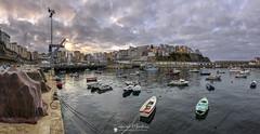 Malpica de Bergantiños (Chencho Mendoza) Tags: malpica galicia costadamorte puerto atardecer
