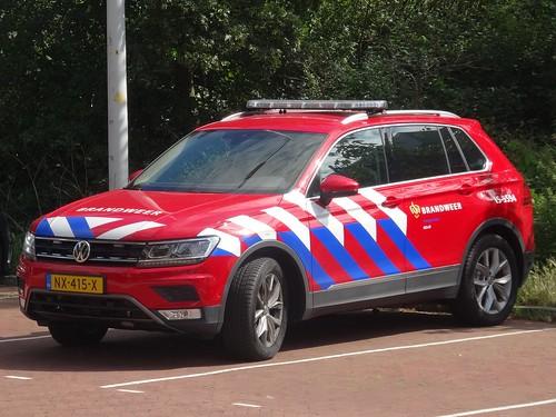 """2017 Volkswagen Tiguan """"Brandweer"""""""