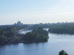 Here the Sava and Danube river meets!