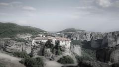 Monastery of Varlaam (HAZIZK) Tags: greece monastery beautifull scenery nikon d5100 meteora kalambaka spirituality varlaam history hike mountain drive