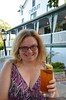 Enjoying A Pimm's Cup At The Chequit (Joe Shlabotnik) Tags: justsue august2017 2017 sue shelterisland chequitinn afsdxvrzoomnikkor18105mmf3556ged