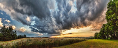 IMG_4727-37Ptzl1TBbLGER (ultravivid imaging) Tags: ultravividimaging ultra vivid imaging ultravivid colorful canon canon5dmk2 clouds sunsetclouds stormclouds scenic rural vista evening summer fields farm pennsylvania pa panoramic sky landscape twilight
