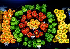 Bell Peppers (ricko) Tags: peppers bellpeppers grocerystore supertarget shawnee kansas vegetables food 222365 2017