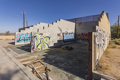 Racquetball courts. Abandoned Boron Federal Prison. (slworking2) Tags: us boronfederalprison abandoned urbex urbanexploration decay airforce minimumsecurity boron california unitedstates