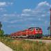 DB 218 400 by maurizio messa - DB 218 400 - RB27039 (München Hbf - Mühldorf(Oberbay)) - Weidenbach - 13/07/2013