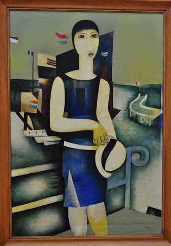 """""""Fanions"""", 1926, Floris Jespers (Anvers 1889-1965), Musée de Grenoble, Grenoble, Rhône-Alpes-Auvergne, France."""