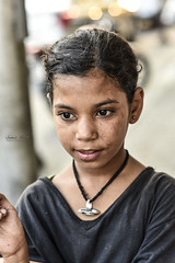 Everything that is made beautiful and fair and lovely is made for the eye of the one who sees. ( Rumi ) (samir.beorn) Tags: girl raw nikon portrait homeless cairo egypt beauty