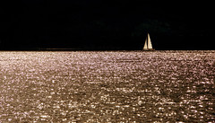 Light on the Water (lady_sunshine_photos) Tags: water wasser licht light glitzern glittering glitteringwater glitteringlake boat boot segelboot sailingboat reflection lake see hallstättersee lakehallstatt obertraun oberösterreich upperaustria mood stimmung atmosphere atmosphäre ruhe stille silence quiet ladysunshine ladysunshinephotos alcatel space natur nature reisen travel platz 2017 august bright strahlend funkelnd farbwolke wonderfulworld supershot sonyalphanex7 dark dunkel sterne stars lightonthewater at austria europa europe theworldisbeautiful flickrexploreme sundaylights