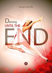 dance (albertonahas92) Tags: poster dance ballet red energy lines dancing alberto nahas graphics