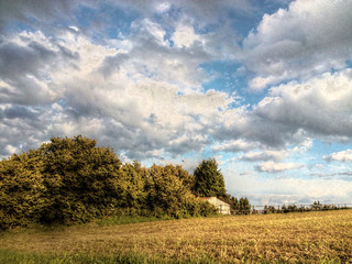 Cloud - Sky Field Nature No People Day Beauty In Nature HDR Tranquility My Point Of View Landscape Nature Clouds And Sky Ruhe Und Stille From My Point Of View EyeEm Nature Lover