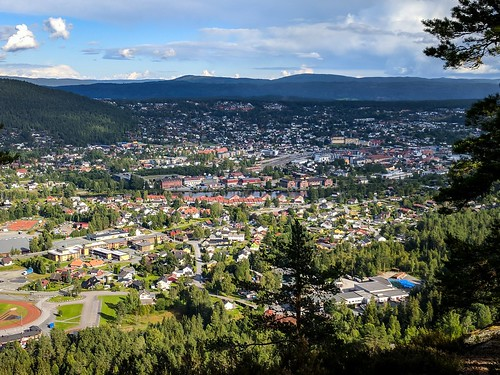 View from Barbrokollen, Kongsberg by petachow, on Flickr