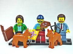 Brick Yourself Custom Lego Figure  Good friends with Poop Emoji
