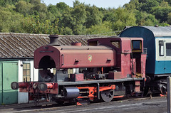 Barclay 2315 of 1951 Lady Ingrid (davids pix) Tags: 2315 lady ingrid barclay 1951 preserved industrial steam locomotive 060st saddle tank spa valley railway 2017 26082017