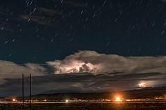 Lightning (inlightful) Tags: lightning timestack stars night storm weather clouds startrails outdoors nature rural