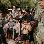 Vietnam War 1966 - American Marines Guarding Vietnamese Villagers thumbnail