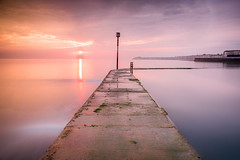 Walpole Bay sunrise (Nathan J Hammonds) Tags: margate kent uk sea coast seawater pool sunrise tidal long exposure hdr nd filter 10stop calm smooth warm sky colourful nikon d750 2485mm