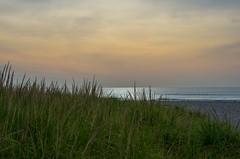 Perfect Beginning (Bud in Wells, Maine) Tags: drakesisland wells maine morning light dunegrass sky sea coast beach coastal newengland