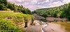 Looking Down The Genesee River From the Top of Middle Falls (Southern New England Photography) Tags: rock waterfalls castile landscape westernnewyork cliffs water mountains newyork letchworth panorama large geneseeriver green summer middlefalls blue color scenery beautiful river scenic hiking outdoor nature parks unitedstates northamerica gorge letchworthstatepark brook creek stream ny unitedstatesofamerica usa