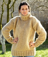 Extra in sexy woollen turteneck (Mytwist) Tags: hand knitted handknitted beige wool nonmohair sweater turtleneck extravagantza 123 turtlemeck tn tneck timeless knitwear sweatergirl fashion female fetish woolfetish design vintage vouge bulky bulgaria cabled cozy chunkysweater chunkey fisherman femdom girlfriend woman wolle classic rollneck retro passion polo love knitting heavy