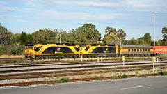 110416-7PM1-Forrestfield (Wally Rail Images) Tags: forrestfield 7pm1 qrnational clydeengineering emd jt26c2ss rpauvicgclass2 g534 railpage:class=4 railpage:loco=g534 rpauvicgclass2g534