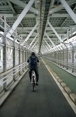 しまなみ海道 (taotti_01) Tags: contax t portra160 kodak bicycle しまなみ海道